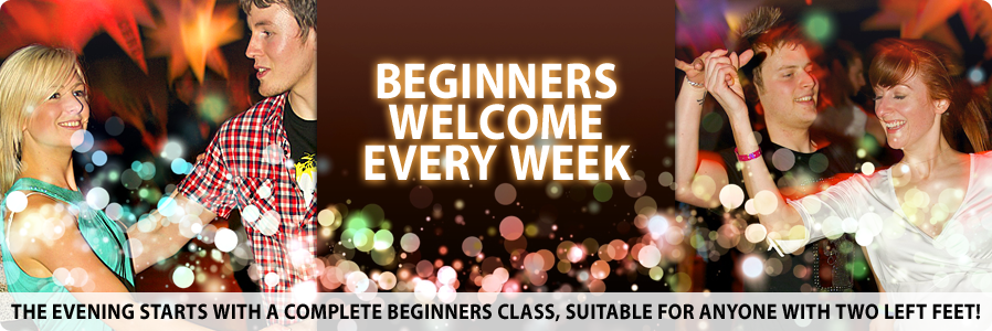 Beginners Welcome Every Week